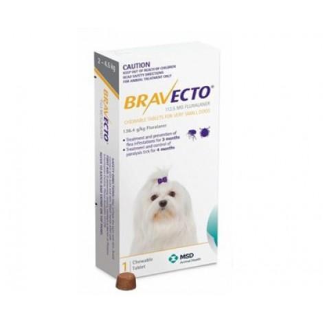 Bravecto Yellow Very Small