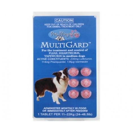 MultiGard Med Dog Tabs