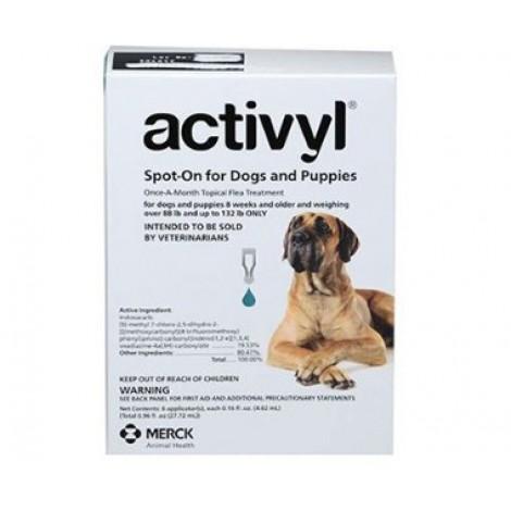 Activyl for Dogs 40-60kg (89-132lb) 6 Pack