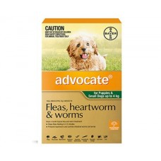 **Advocate Sml Dog & Pups (Green) 1Vial Pack