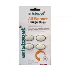 Aristopet Dog Allwormer tabs 20kg (44lbs)