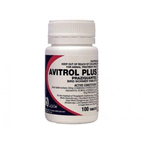 Avitrol Plus Bird Wormer 100 Tablets