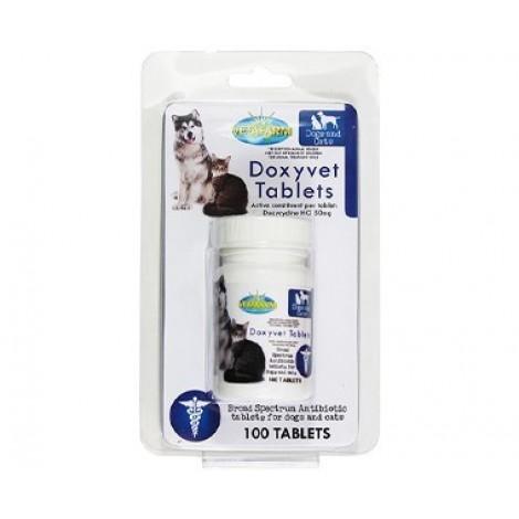 Doxyvet Antibiotic Tablets