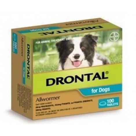 Drontal  100 x 10 kg ( 100 X 22 lb ) Breeders Pack