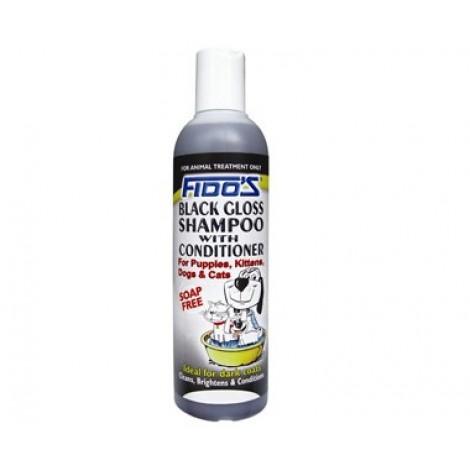 Fido's Black Gloss Shampoo 250ml (8.5 floz)
