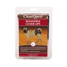 ClearQuest Washable Dog Cover-Ups Dog Diapers Large