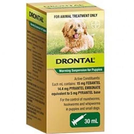 Drontal Puppy Liquid Suspension