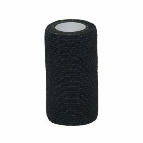 **Value Plus Valuwrap Cohesive Pet Bandage 10cm Black