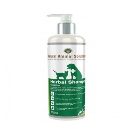 Natural Animal Solutions Herbal Shampoo Sensitive 375mL