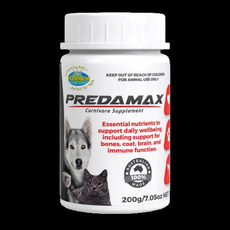 Predamax Carnivore Suppliment 200gms/7oz