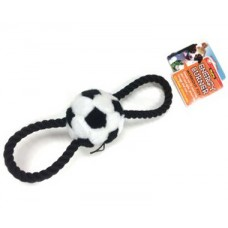 **Plush Tug Soccer Ball Medium