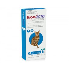 Bravecto Spot On for Cats Blue Medium