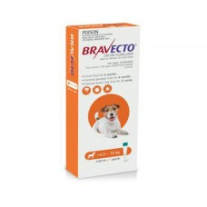 Bravecto Spot On for Dogs Orange Small