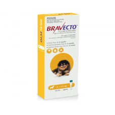 Bravecto Spot On for Dogs Yellow Very Small