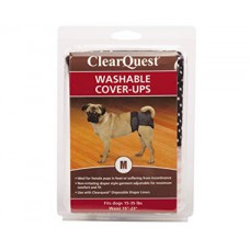 ClearQuest Washable Dog Cover-Ups Dog Diapers Medium