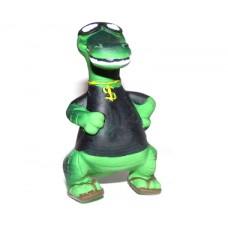 **Latex Dinosaur Squeakers Green 19cm