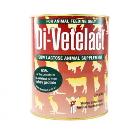 Di-Vetelact Milk Replacer for most mammals 375gms
