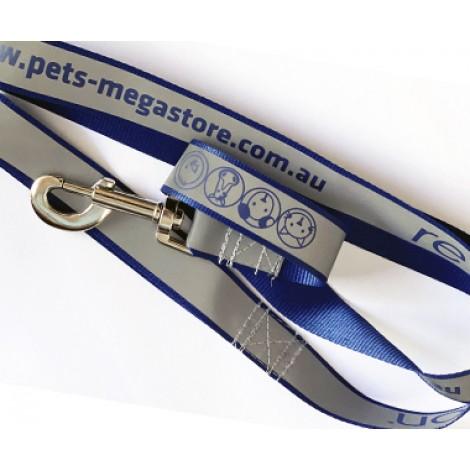 **Pets-Megastore High Visible Dog Lead Purple