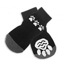 ***Anti Slip Dog Socks for Large Dogs black