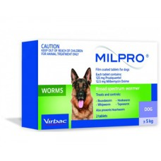Milpro for Dogs over 5kg (11 lbs)