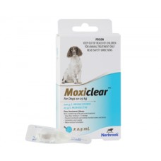 Moxiclear For Dogs 10-25kg Blue 6 Pack