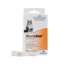 Moxiclear For Cats over 4kg Orange