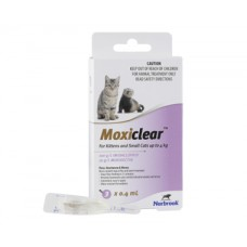 Moxiclear For Kittens & Small Cats Purple
