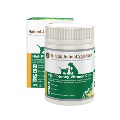 Natural Animal Solutions High Potency Vitamin C 100g