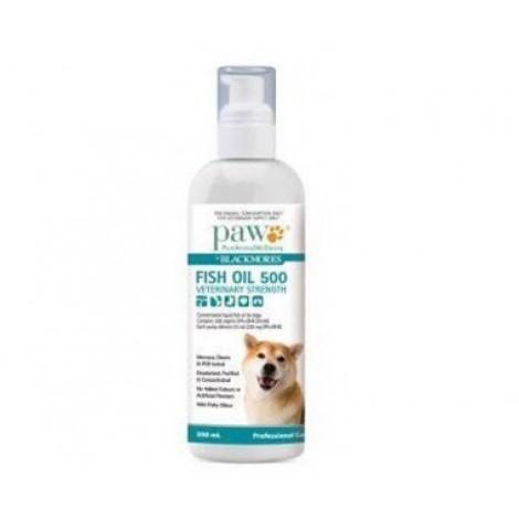PAW Veterinary Strength Fish Oil 500 -  200mL