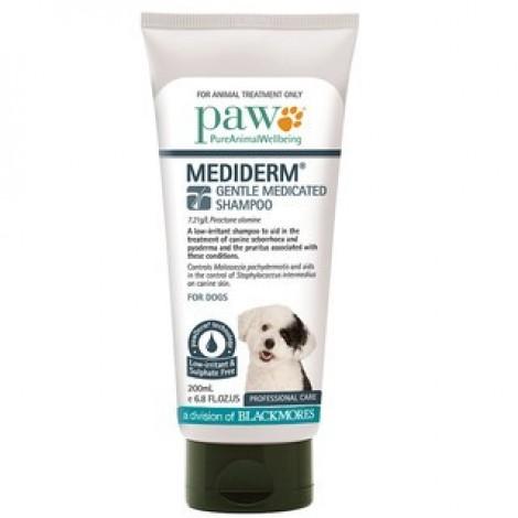 PAW MediDerm Gentle Medicated Shampoo 200mL