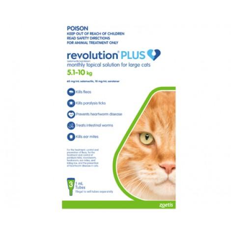 Revolution Plus Large Cat 5.1-10kg (11-22lb) Green