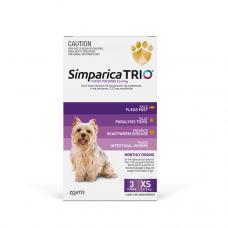 Simparica Trio 2.5 - 5kg Purple