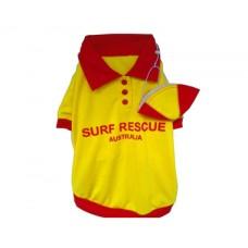 **Life Saver Dog T-Shirt with Cap XXXL