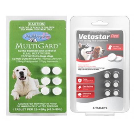 Vetastar / Multigard Combo Large Dog