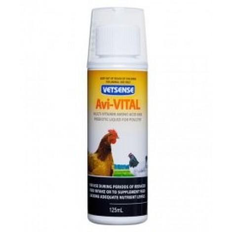Vetsense Poultry Avi-Vital 125mL