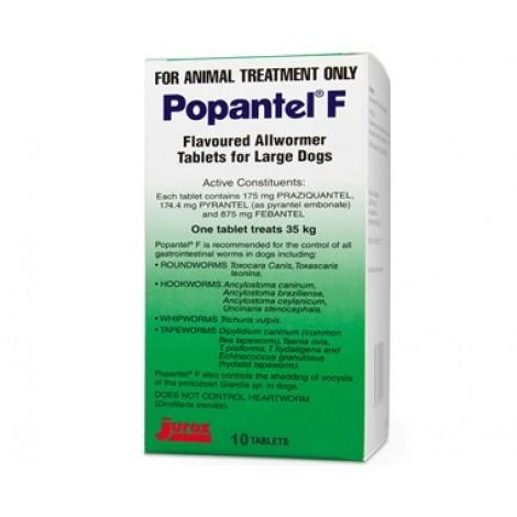 Popantel F Allwormer 35kg (77lbs)