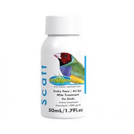 SCATT 50mL (1.7 fl oz)  Scaly Face/Air Sac Mite treatment for birds